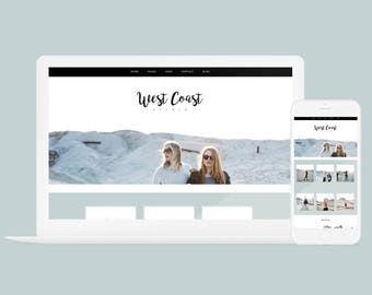 Wordpress Theme + Brand Kit - West Coast