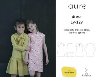 Laure dress pattern (qipao)