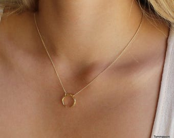 double horn necklace | Crescent necklace | Tusk | Half Moon Necklace | dainty necklace | minimalist necklace | layered necklace |daintyhorn