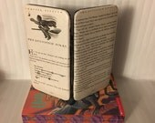 Harry Potter Themed Clasp Book Page Wallet - The Quidditch Final