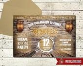 Escape Room Invitation | Escape Room | Escape Room Party | Escape Room Birthday | Digital | Party | Invitation | Birthday Invitation | teen