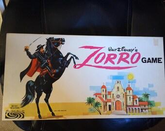 Vintage Walt Disney ZORRO Board Game 1964-66 Parker Brothers