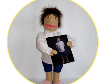 Likeness puppet Custom puppet Puppet based on a photo of your choice
