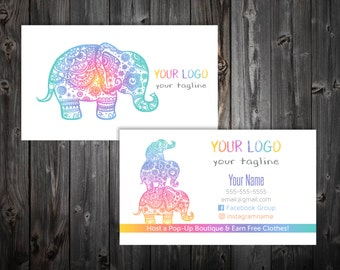 Business Cards - Elephant