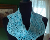 Waterfall Scalloped Cowl/Infinity Scarf