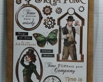 Steampunk  - Shabby Chic Stamps by Debbi Moore Designs