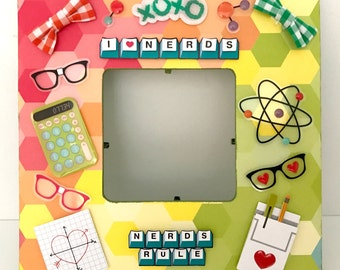 Geek/I heart nerds/Nerdist/Home Decor/Nerd Frame