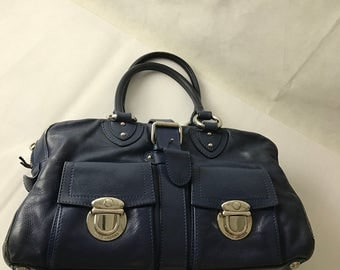 Marc Jacobs Leather Bag Blue