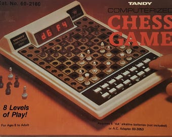 Tandy,Computerized Chess Game
