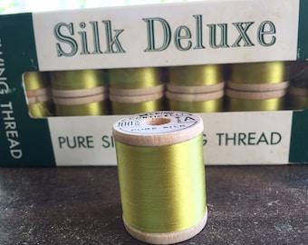 Belding Corticelli Silk Thread, Parakeet, #9375