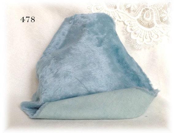 Italian Viscose Plush Fabric Fur Hand Dyed 478 6 Mm Pile