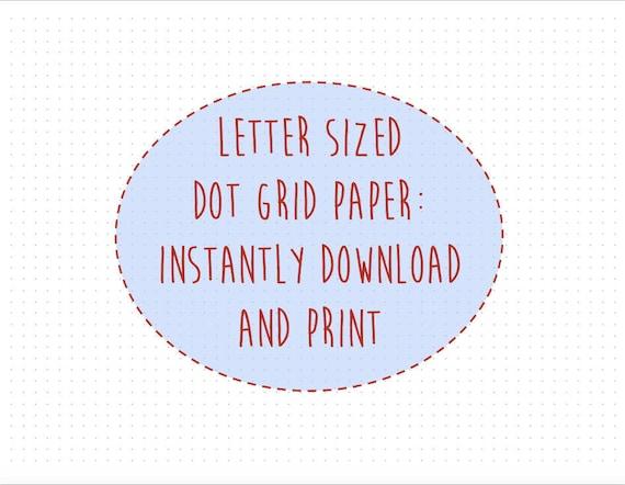 print dot grid paper