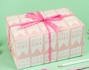 It's a Girl Wrapping Paper