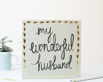 My Wonderful Husband