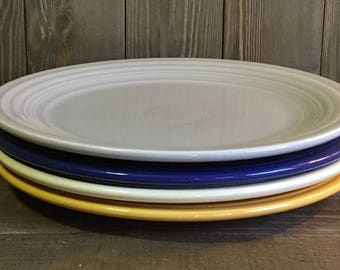 """Vintage Fiestaware 9"""" Luncheon Plate"""