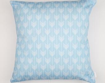 Blue Arrows Cushion Cover