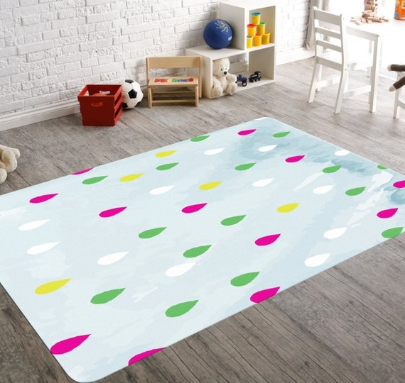 Colorful Rug Kids Floor Rugs Bedside Rug Room Decor