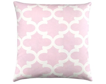 Cushion cover Bob Pink White 60 x 60 cm grid graphically