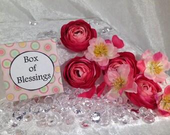 Box of Blessings ~ Handmade Gift, Christening, New Baby, Communion, Wedding.