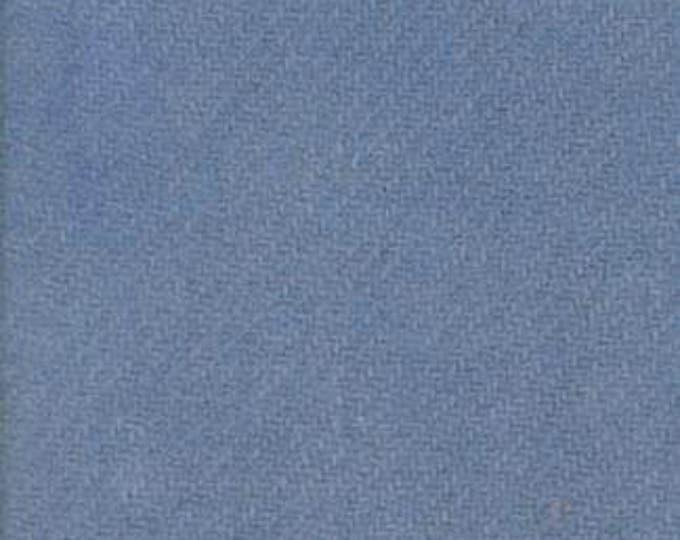 Moda 100% Wool French Blue 5481049 - 1/2 yd x 54 inches