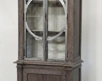 Thin Tall Distressed Cabinet from Terra Nova Designs