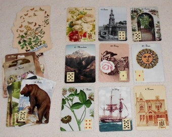 Heirloom Lenormand No Border Fortune Telling Oracle Cards. Brand New. Self Published.