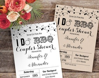 printable i do bbq couples shower invitation wedding templates wedding shower invite instant