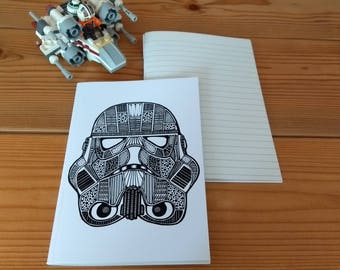 Stormtrooper notebook (A6 Lined)