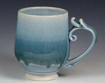 Frosty Blue Mana Mug