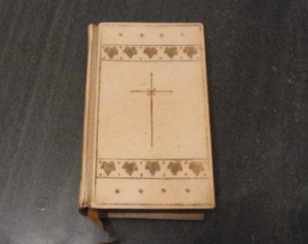 Antique Edwardian Book of Common Prayer 1900s 1900s Pocket Book of Common Prayer Edwardian Christian Book.. Biblical