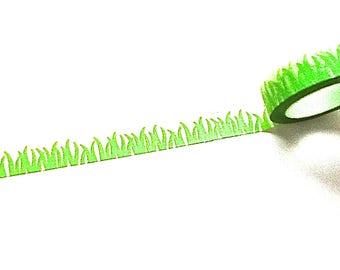 Grass Washi Tape, Spring Washi, Washi Tape, Planner Washi Tape, Scrapbook Supplies, Doodlebug Designs,