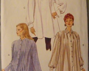 Loose Fitting Tunic Uncut Vogue Sewing Pattern 8947 Size 12