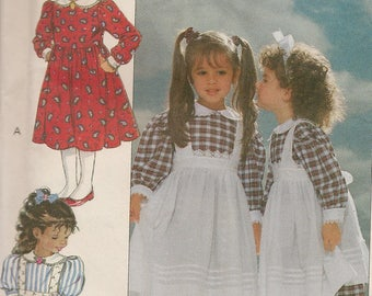 Butterick Girls Pattern-Eileen West Dress and Pinafore