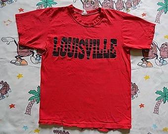 Louisville shirt etsy for Louisville t shirt printing