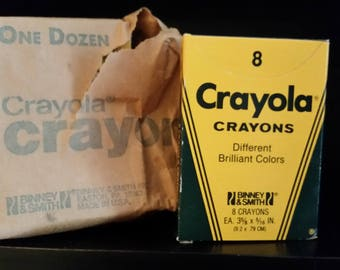 1985 NEW Crayola Crayons Binney & Smith 6 Pack Of 8= 48 Crayons