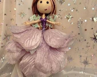 "Handmade Fairy- ""Lavender Fairy"""