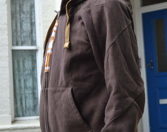 Thick Brown Hoody Fleece by Nike