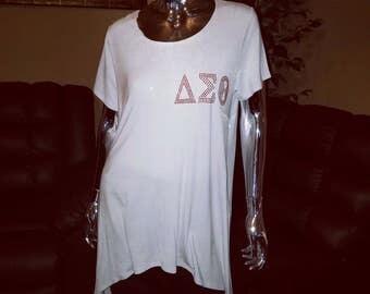 Delta shirt tunic
