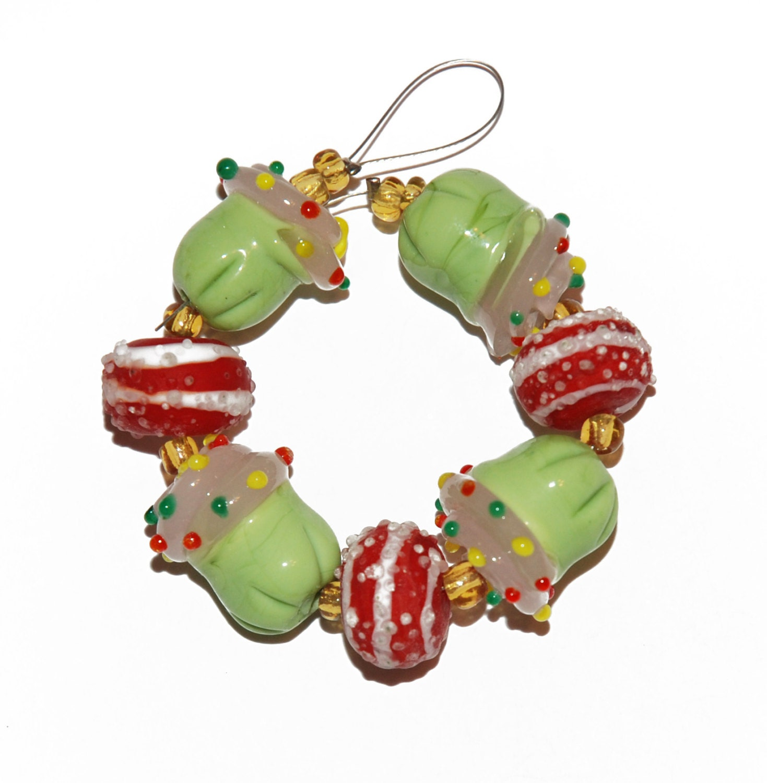 glass lwork bead assortment strand for jewelry
