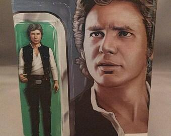 Star Wars decoupage comic book tissue box cover