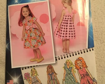 """Simplicity  """"project runway"""" toddlers and childs dresses"""