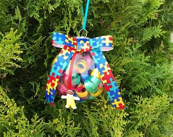 Autism ornament | Etsy