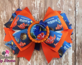 Finding Dory Layered Hairbow