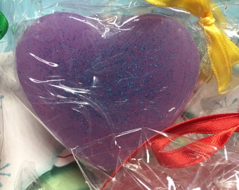 Soap Heart Love Pink 12 pack Soap