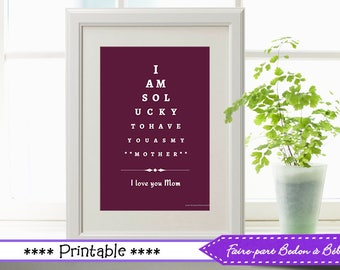 Mother's day decor - Mother's day - Mother's day printable - wall art printable - wall art - 8x10
