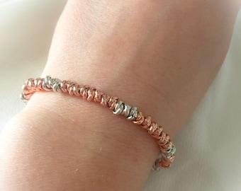 Bracelet knot in rose gold