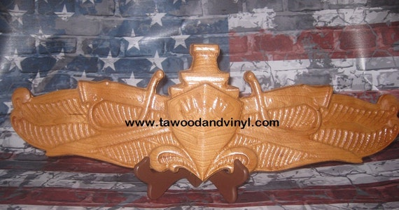 Surface Warfare Officer, Navy, Carved wood working, Navy Chief, Navy Carvings, Navy Gifts, Decor, US Navy, SWO, Chief, Wall decor, office,