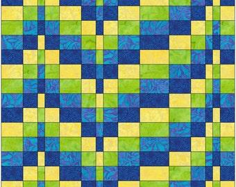 Bargello 3 - 15 Inch Block Paper Template Quilting Block Pattern PDF