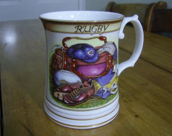 Rugby Mug - Queen's China