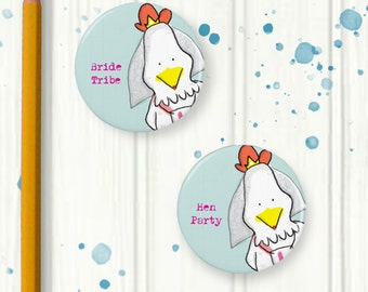 Hen Party Badges, Quirky Badges, Hen Weekend, Hen do, Hen Party Accessories, Bachelorette Party, Hen do gift, Bride Tribe, Bride to be,